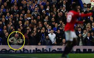 Chelsea's racist supporter against Danny Welbeck.jpg