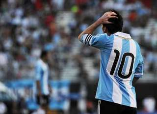 Lionel Messi in the World Cup 2014 qualifier Argentina - Bolivia.jpg