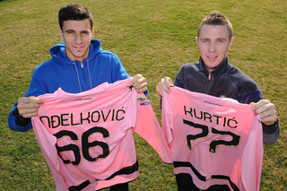 Slovenes Adelkovic and Kurtic join Palermo.jpg